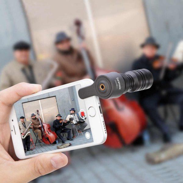 Saramonic SmartMic Plus in Use