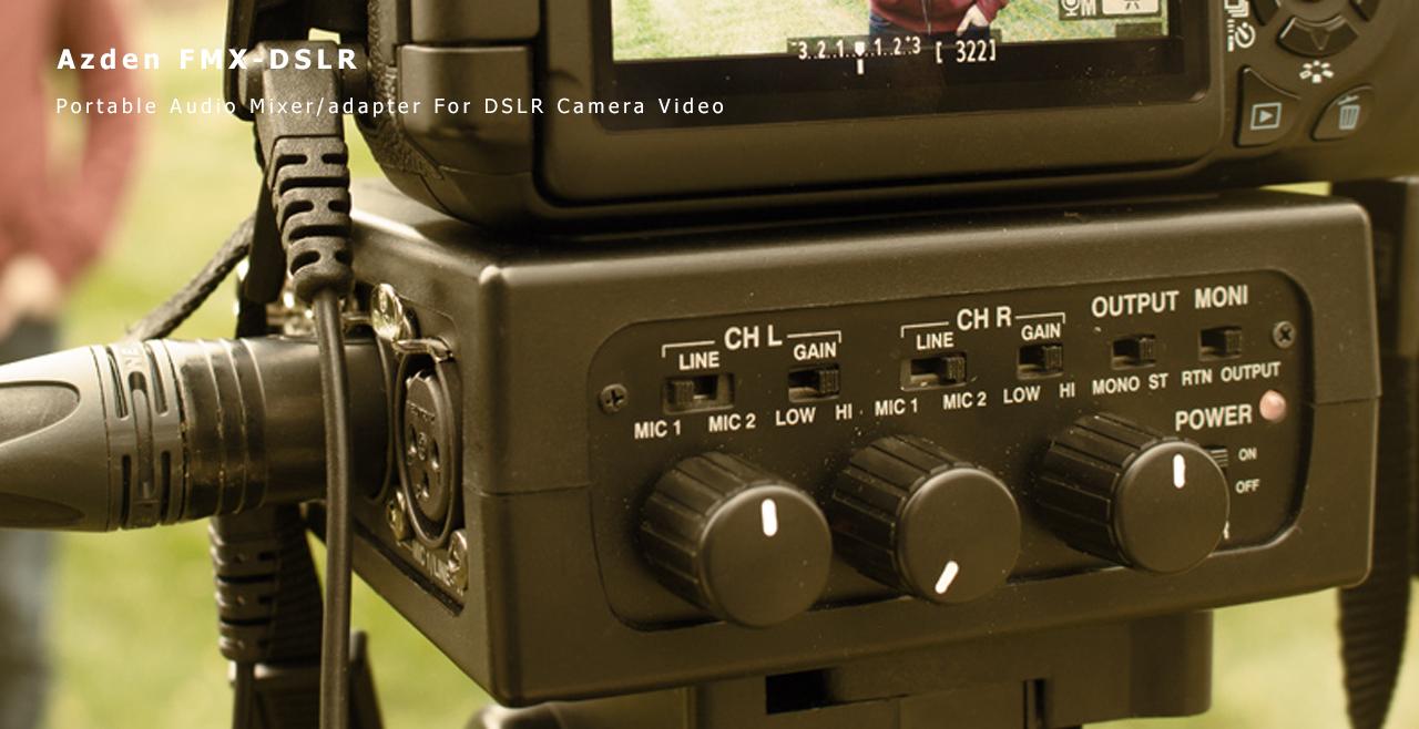 Azden FMX-DSLR Content