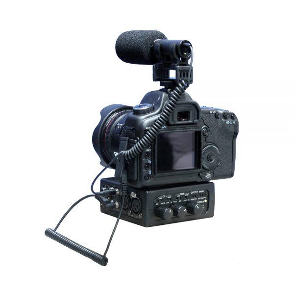 Azden FMX-DSLR With Camera