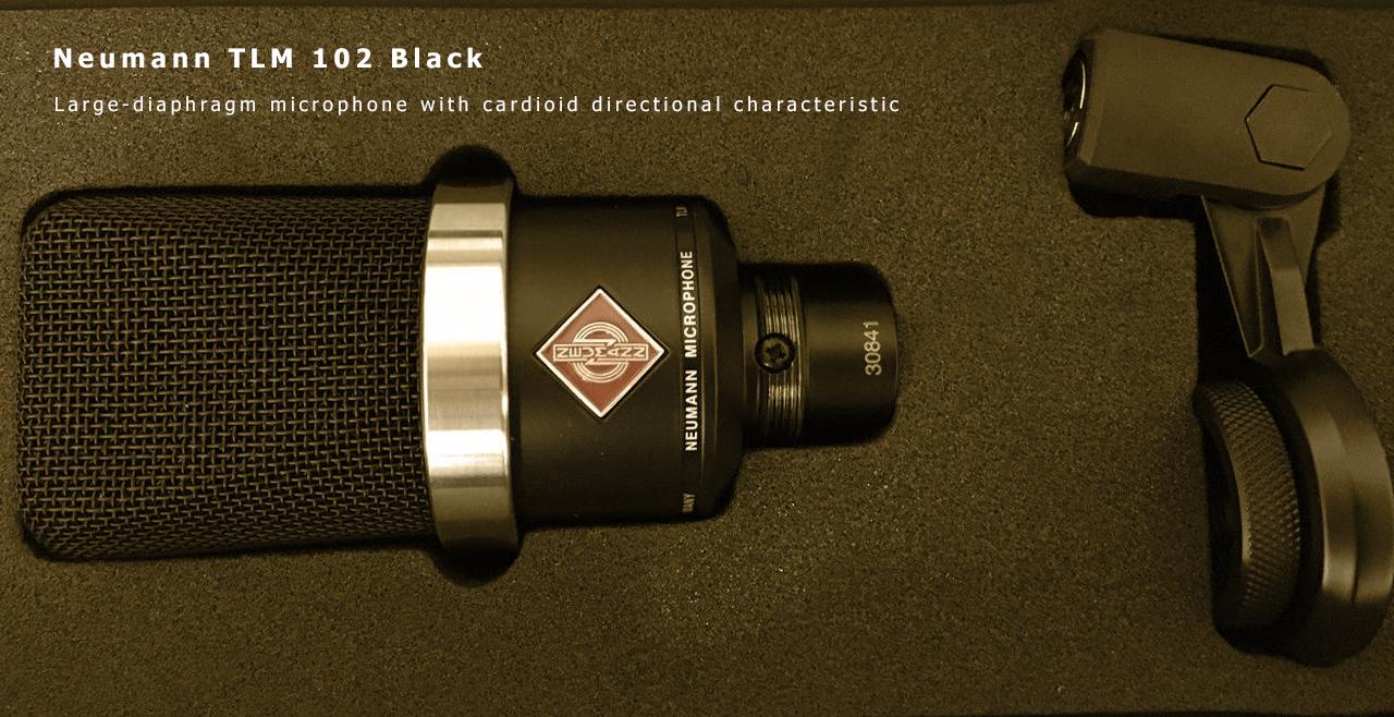 Neumann TLM 102 Black Content