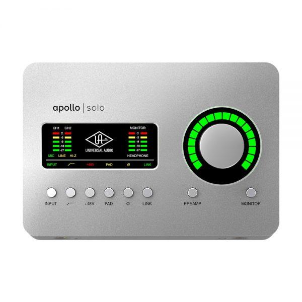 Universal Audio Apollo Solo USB3 Top