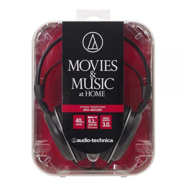 Audio Technica ATH-AVC200 Box