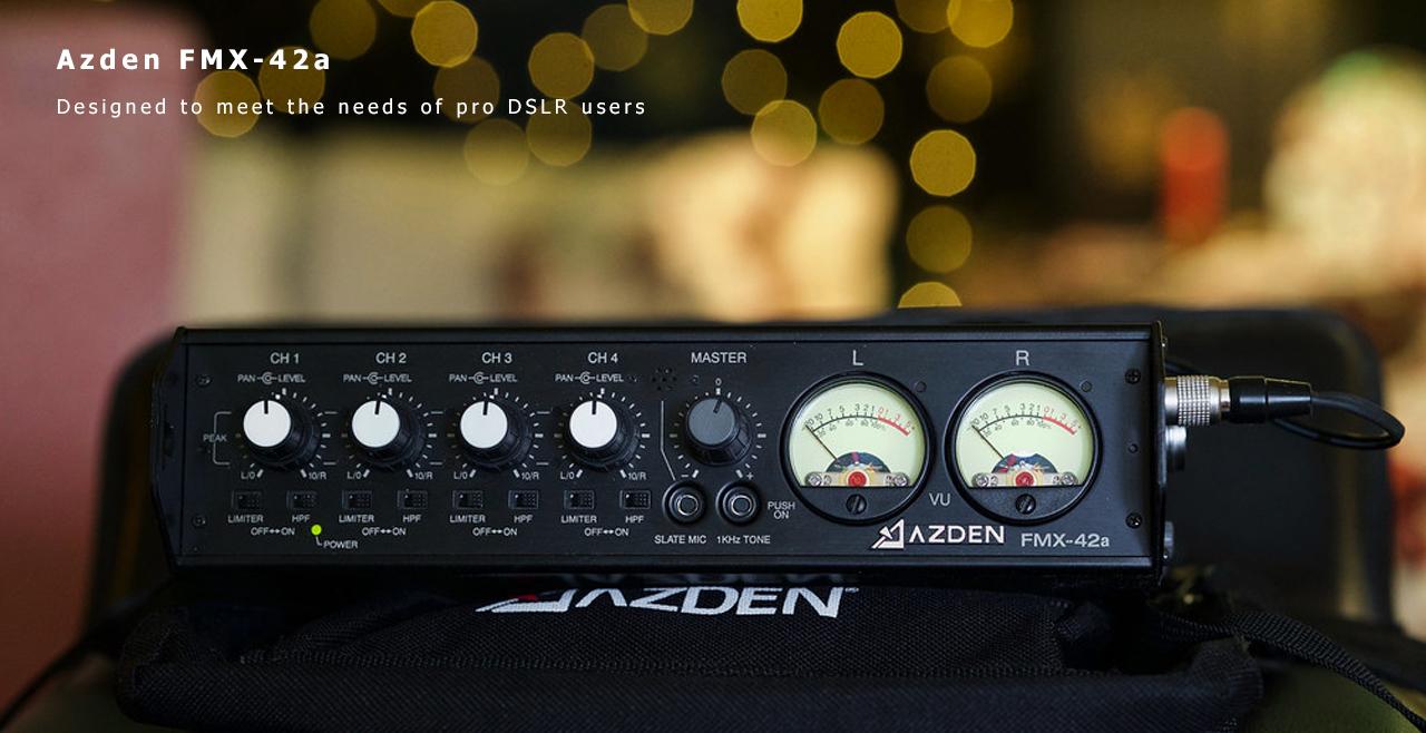 Azden FMX-42a Content