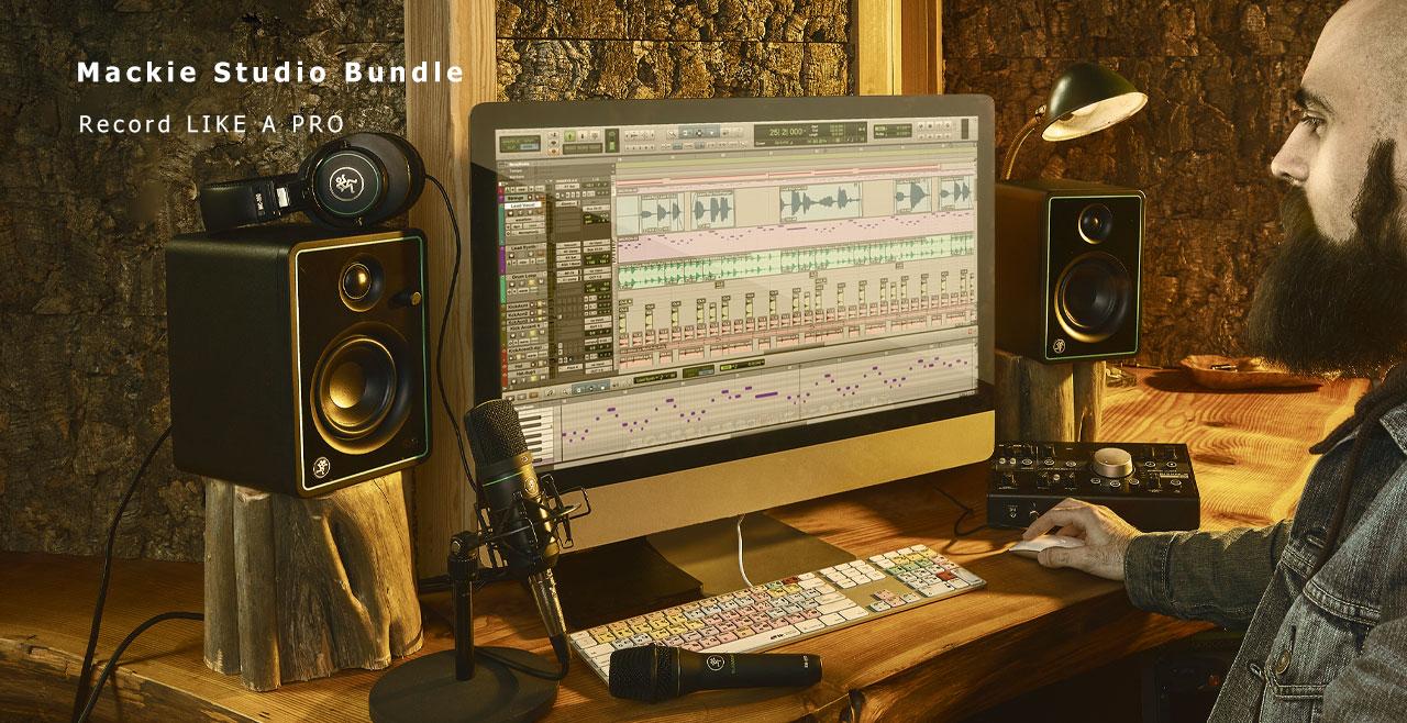 Mackie Studio Bundle Content