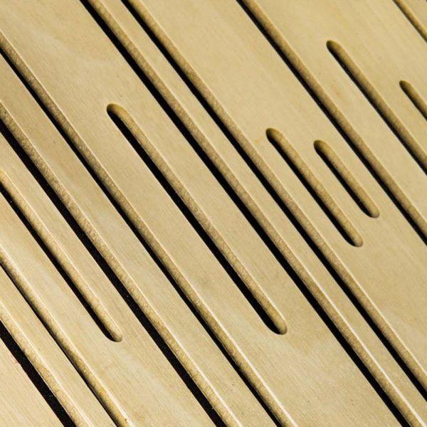 BassTrap Wood Detail