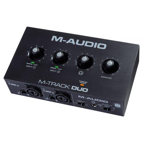 M-Audio M-Track DUO Angle