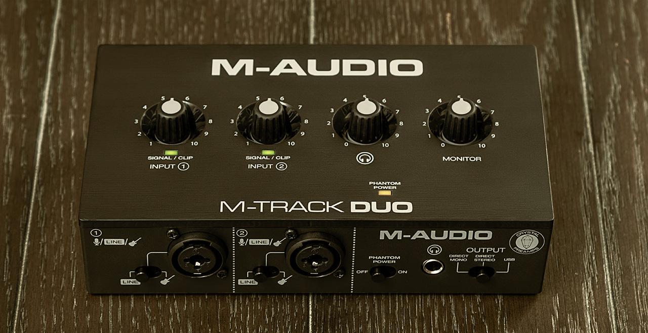 M-Audio M-Track DUO Content