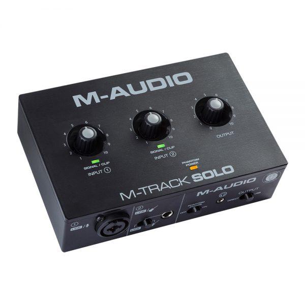 M-Audio M-Track Solo Angle