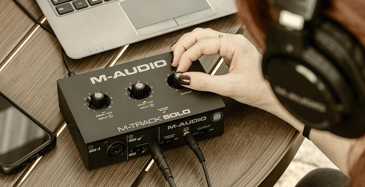 M-Audio M-Track Solo Content