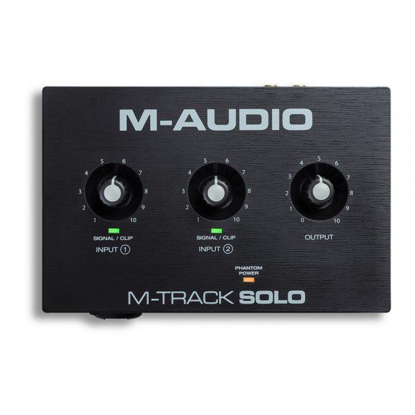 M-Audio M-Track Solo Top