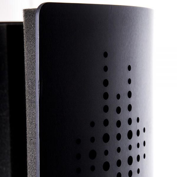 Deconik Flexi Screen Guard Black Punchy Wood