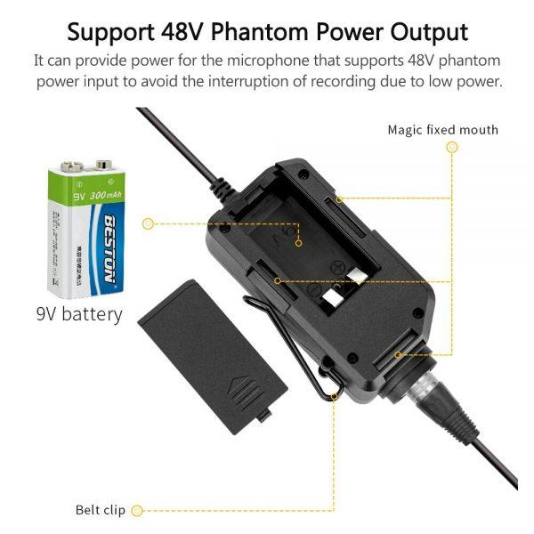 Comica Audio LinkFlex AD2 Battery
