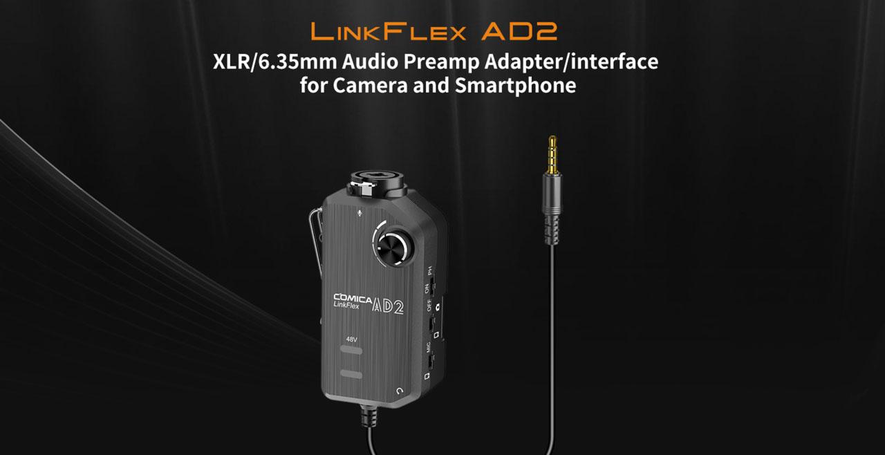 Comica Audio LinkFlex AD2 Content