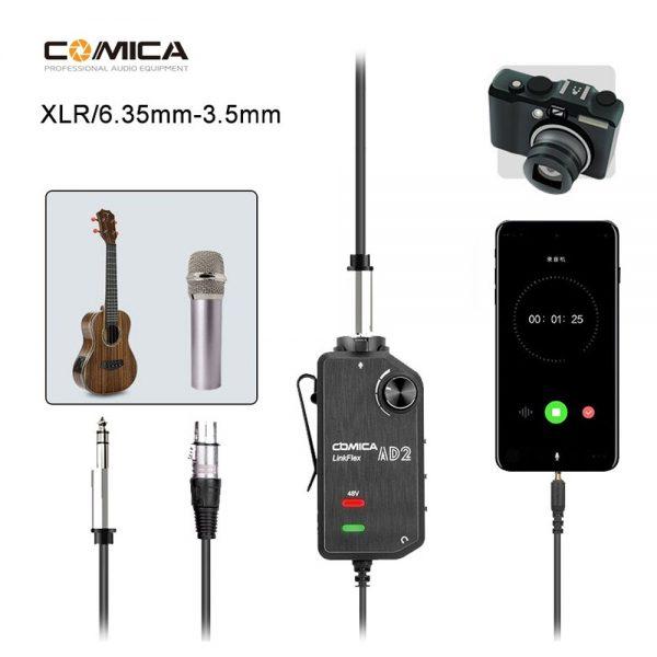Comica Audio LinkFlex AD2 Install
