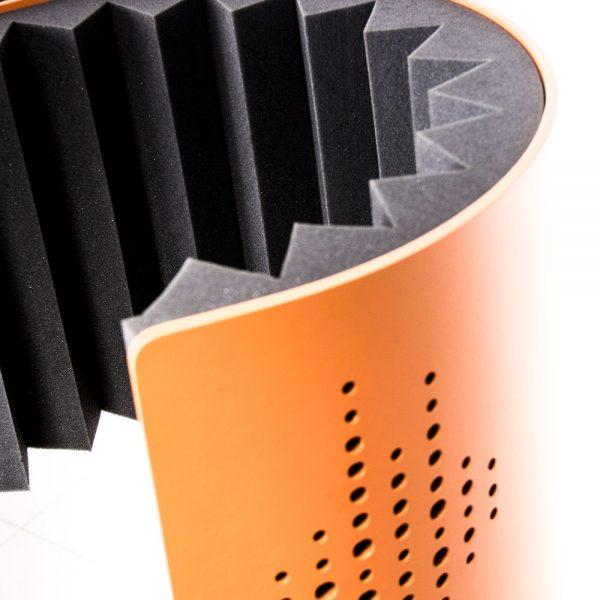 Flexi Screen Guard Orange Top Detail