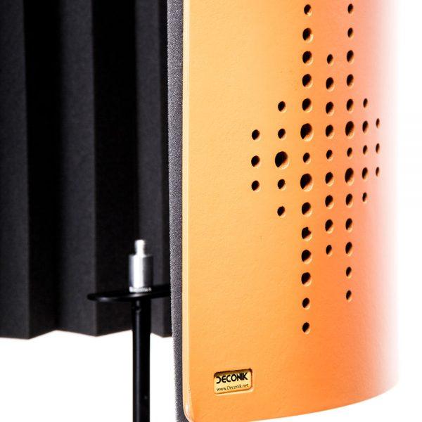 Flexi Screen Guard Orange Side Angle