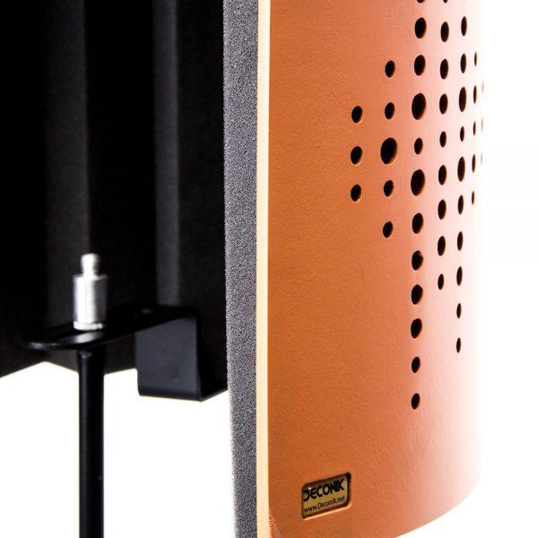 Flexi Screen Guard Orange Side Angle Detail