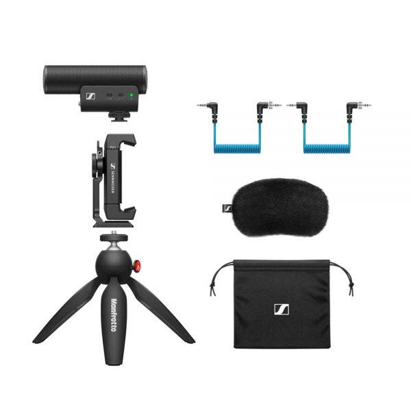 Sennheiser MKE400 Mobile Kit Full Detail