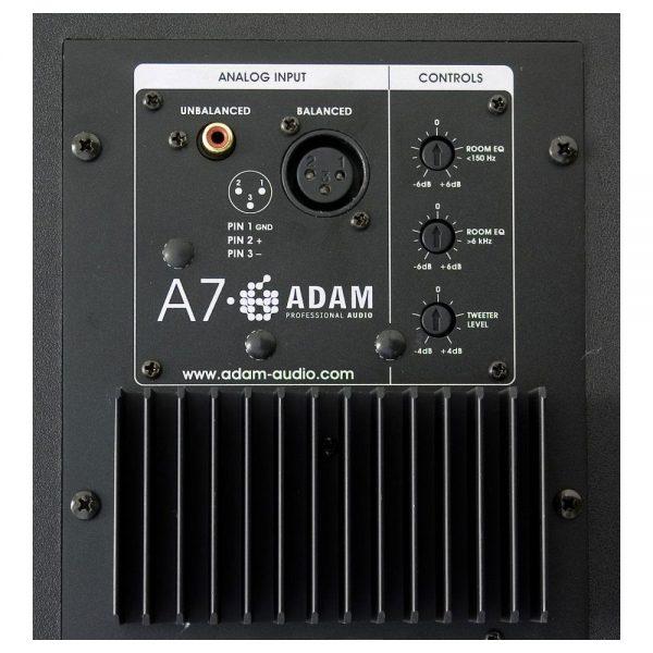 ADAM Audio A7 Back Detail