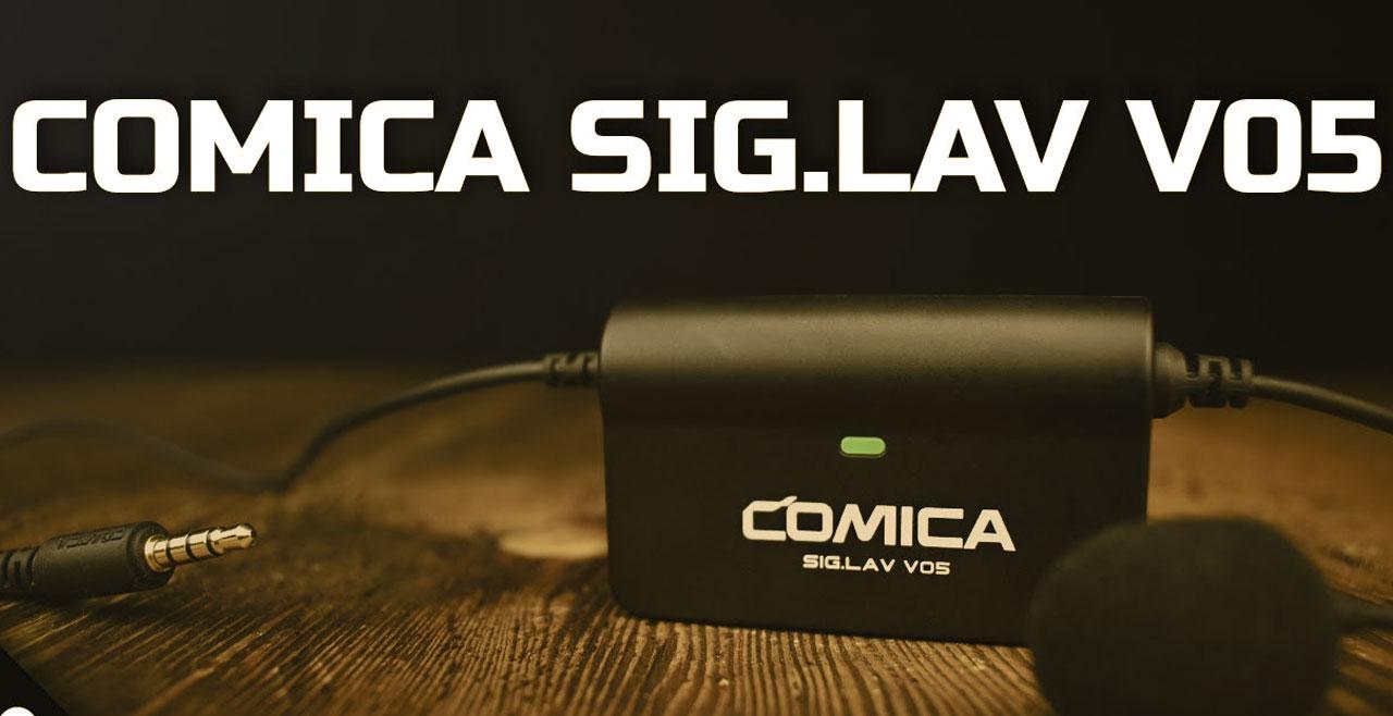 Comica Audio CVM SIG.LAV V05 Content