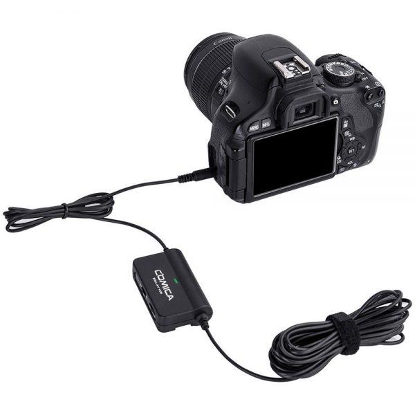 Comica Audio CVM SIG.LAV V05 On Camera