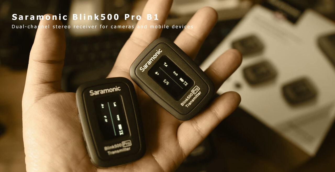 Saramonic Blink 500 PRO B1 More