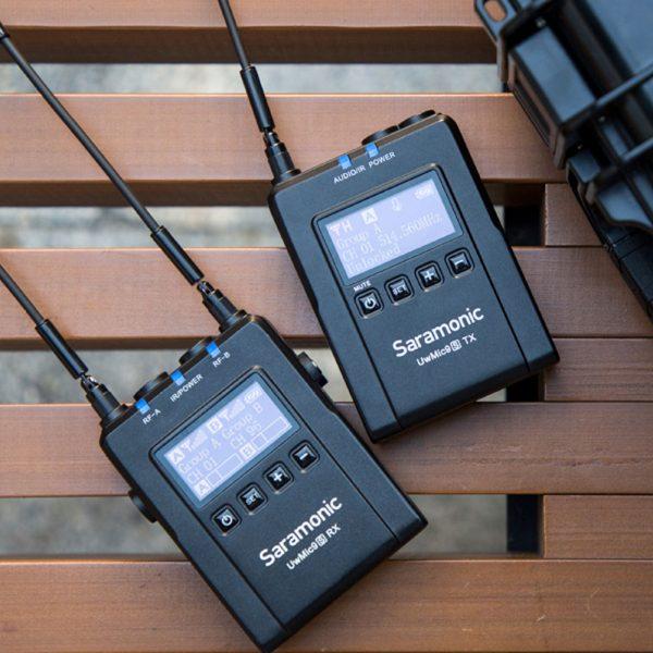Saramonic Uwmic9s Kit1 In Use
