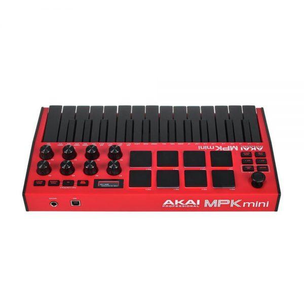 AKAI MPK Mini MK3 Red Back