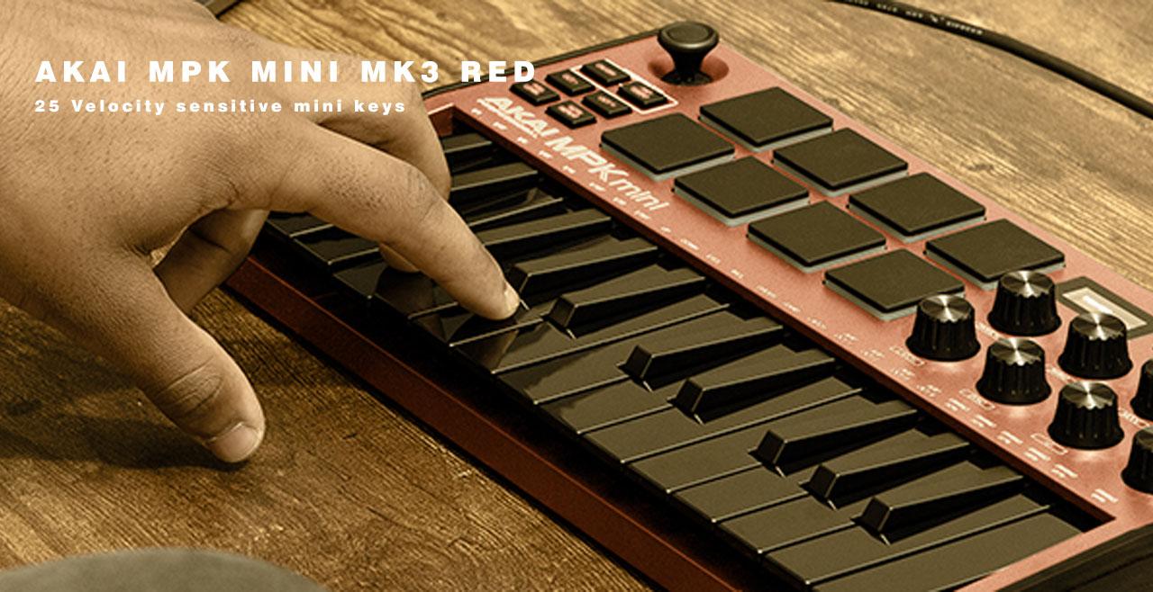 AKAI MPK Mini MK3 Red Content