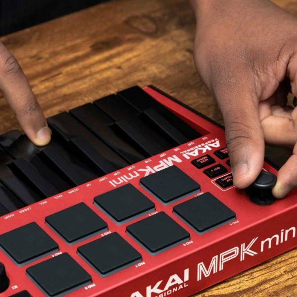 AKAI MPK Mini MK3 Red Joystick