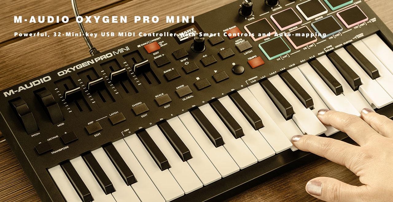 M-Audio Oxygen Pro Mini Content