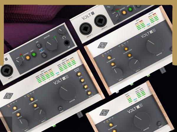 کارت صدای سری ولت در ایران صوت Universal-Audio-Volt-Series